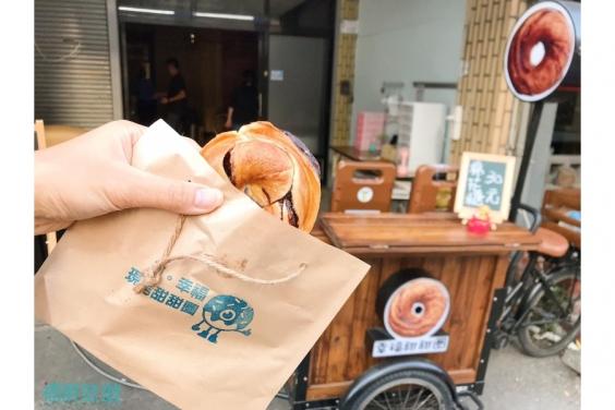 福宸旅遊-台東美食-初。幸福現烤甜甜圈