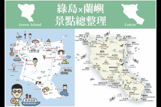 2020綠島蘭嶼景點總整理